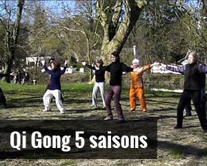 Qi Gong 5 saisons