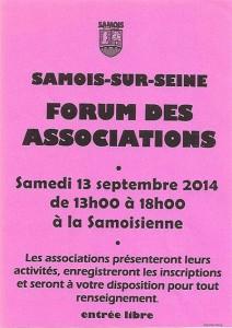 Forum des associations de Samois-sur-Seine