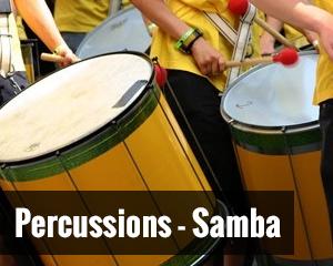 Percussions samba