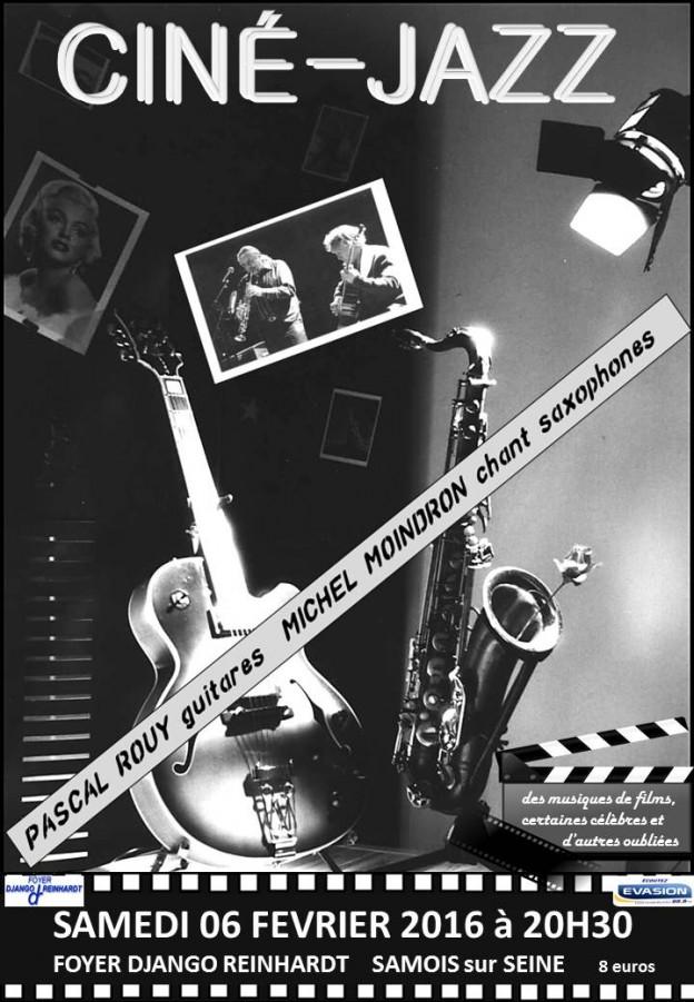 Cine Foyer Dampierre Salon : Ciné jazz récital foyer django reinhardt samois sur