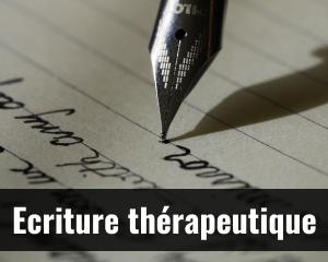 Ecriture thérapeutique