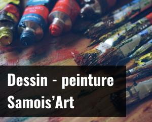 Dessin peinture - Samois'Art