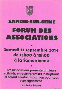 Forum des associations de Samois-sur-Seine